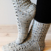 Evergrey Socks pattern