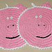 Pig Potholder or Towel Topper pattern