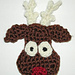 Reindeer Head Ornament pattern