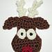 Reindeer Head Ornament pattern