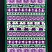 Suffragette Blanket pattern