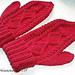 Cherry Mittens pattern