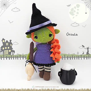 Witch Elf Free Pattern Pdf version - Laydiy Online Free crochet ...   320x320