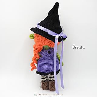 Patrón crochet Ursula Villana Disney - Amigurumi Ursula PDF ... | 320x320