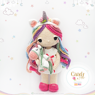 25+ Unicorn Crochet Patterns {Magical crochet toys to make you ... | 320x320