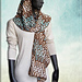 """Knitted Scarf """"PAMIR"""" pattern"""