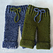 Newborn Pants pattern