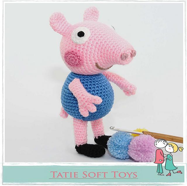 George Pig (Free Amigurumi Patterns) | Amigurumi pattern, George ... | 635x640