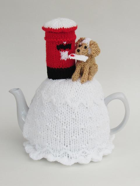 Vintage Caravan Tea Cosy Knitting Pattern to knit your own Caravan Teapot Cover