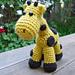Ellie the Giraffe pattern