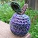 Crocheted Plum pattern