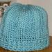 Tunisian Ribbed Hat pattern