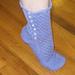 High Button Socks pattern