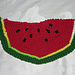 Watermelon Slice Dishcloth pattern