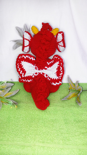 Dragons Cuddly Toys [Free Pattern] | Crochet dragon pattern ... | 500x281