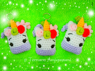 Little amigurumi sheep keychain (free amigurumi pattern) | Mindy | 241x320