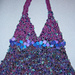Purple Triangle not felted003