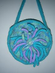 Round flower bag011
