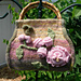 English Garden Felted Carpetbag pattern
