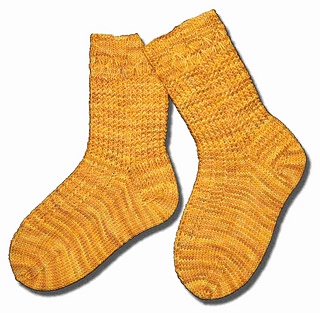 Slip Stitch Delight Socks shadow