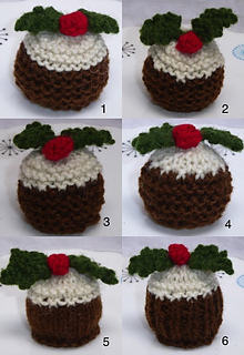 Christmas Knitting Patterns For Ferrero Rocher.Christmas Pudding Ferrero Rocher Cosies Pattern By Tess Young