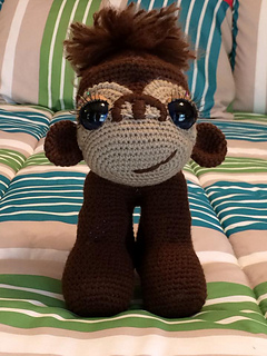 Crochet a Sixteen Inch King Kong! They Say It's Some Big Gorilla ... | 320x240