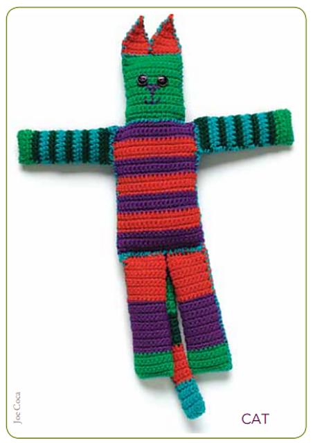 Crochet Doll & Animal Patterns - Patchwork Animals Crochet Pattern ... | 640x452