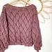 Leaf Sweater pattern