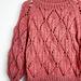 Leaf Sweater Winter Edition pattern