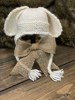 Knit Baby Bunny Hat