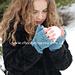 Trinity Stitch Fingerless Gloves pattern