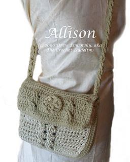 Allison - a crossbody purse to crochet