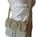 Allison - a crossbody purse to crochet pattern