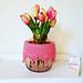 Boho Vase/ Pot/ Jar Cozy pattern
