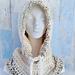 Magdalene Hooded Cowl pattern