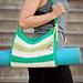 Stripes Yoga Bag pattern