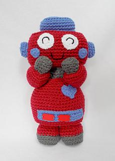 Blue Robot Crochet Pattern Robot Amigurumi Pattern Crochet | Etsy | 320x229