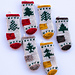 Nordmann Tree Stockings pattern