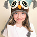 Square Owl Hat pattern