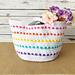 Pop of Color Basket pattern