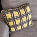 Lemon Plaid Chair Cushion pattern