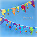 Bee Happy Bunting pattern