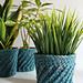 Spiral Crochet Planter Cover pattern