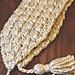 Madeleine Tasseled Scarf pattern