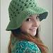 Lazy Daisy Floppy Sun Hat pattern