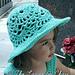 Lacy Shells Sun Hat pattern