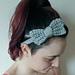 Super Simple Bow Headband pattern