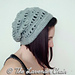 Lacy Waves Slouchy Beanie pattern