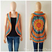 Sunset Mandala Circular Vest pattern