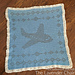 Filet Airplane Blanket pattern